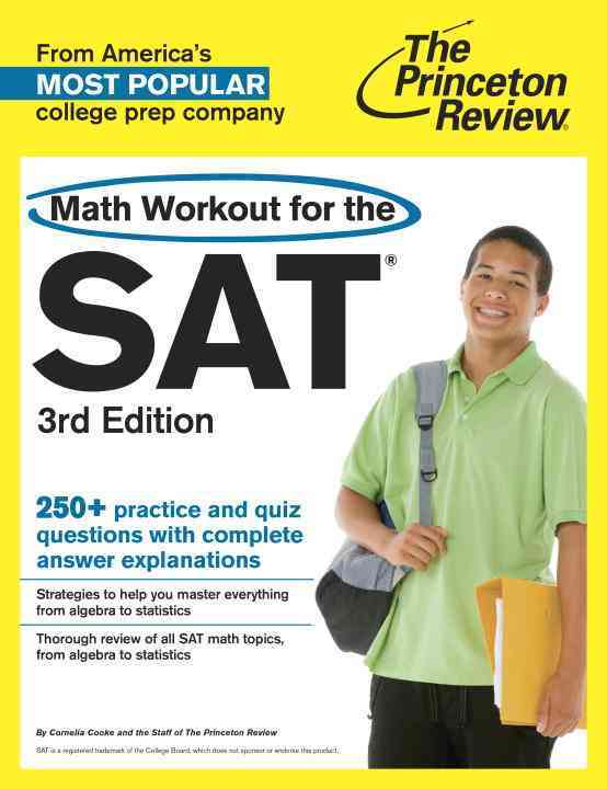 Math Workout for the Sat By Princeton Review (COR)